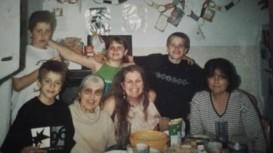 cousin, grandma, sister,mom,me,aunt